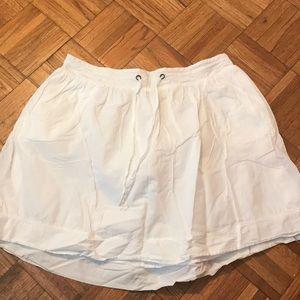 Merona white skirt, long mini - XL